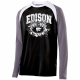 Edison Wildcats Football Design 1 Shield Shirt
