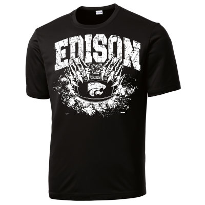 Edison Wildcats Football Design 1 Competitor Tee