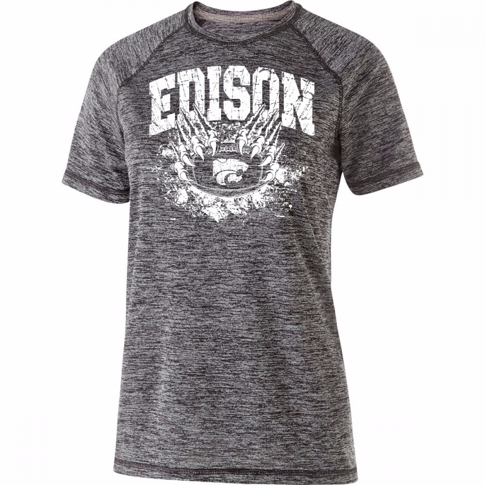 Edison Wildcats Football Design 1 Electrify Shirt